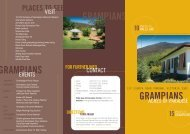 Grampians Brochure - Grampians - Acres Of Paradise