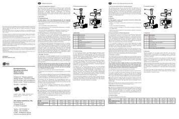Gilmour Insecticide & Fertilizer Sprayer-362 Instructions