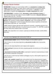 Assegno Nucleo Familiare - UIL Basilicata