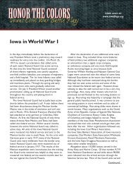 Iowa in World War I