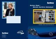 Buiten Opel – Binnen Sortimo Globelyst - Ellermeyer