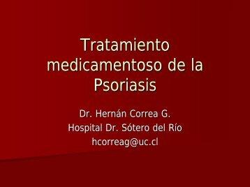 Tratamiento medicamentoso de la Psoriasis
