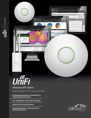 UniFi Enterprise/Outdoor WiFi System Datasheet - Honey Badger ...