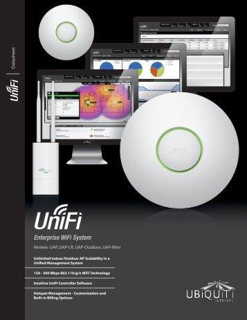 UniFi Enterprise/Outdoor WiFi System Datasheet - Honey Badger ...