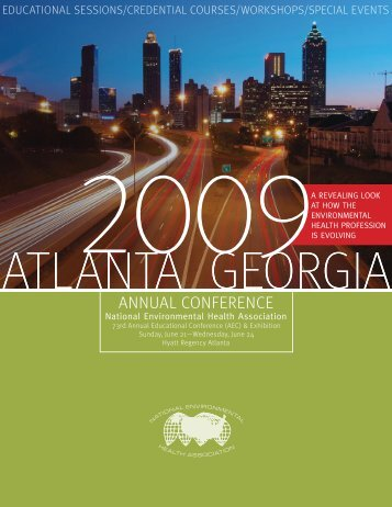 Full conference brochure - National Environmental Health Association