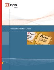 Comprehensive Product Selection Guide - Inphi Corporation