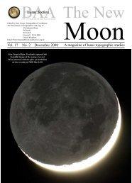 A magazine of lunar topographic studies Vol. 17 No. 2 December 2008