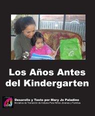 Los Años Antes del Kindergarten