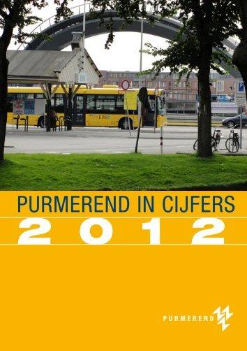 Purmerend in Cijfers 2012 - Gemeente Purmerend