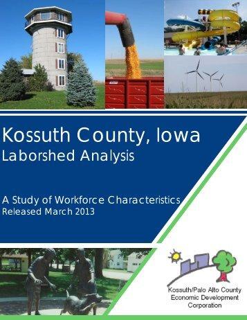 Kossuth County Area 2013 - Iowa Workforce Development