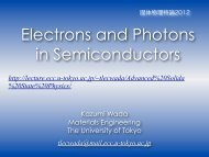 Electrons and Photons in Semiconductors