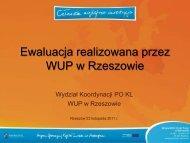 Rekomendacja - wup rzeszow.pl