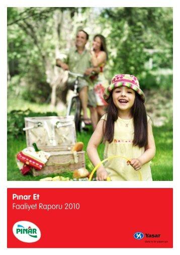 Pınar Et Faaliyet Raporu 2010
