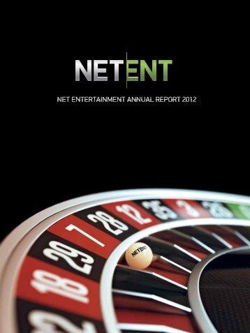 Annual Report 2012 - Net Entertainment