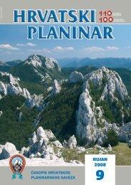 PDF (9,0) - Hrvatski planinarski savez