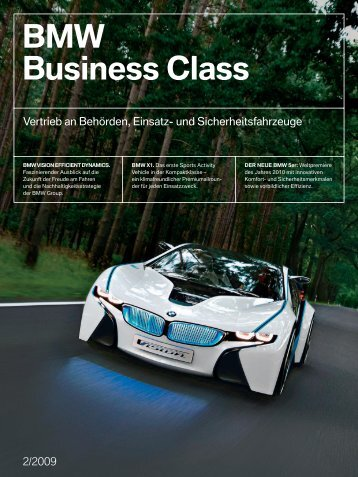 BMW Business Class - BMW Deutschland