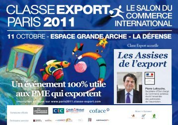PARIS 2011 - Classe export