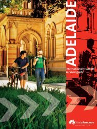 ADELAIDEinternational students' survival guide - Study Adelaide