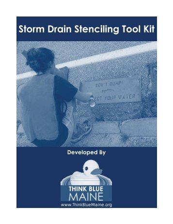 Storm Drain Stenciling Toolkit (PDF)