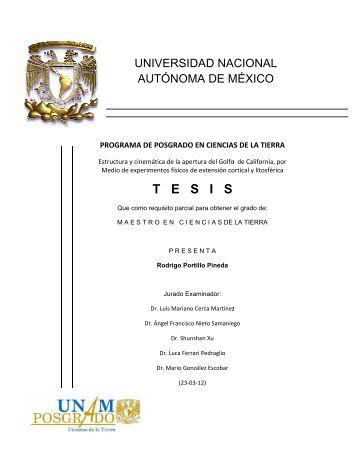 T - Centro de Geociencias ::.. UNAM