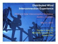 Distributed Wind and Solar Integration Experience - Utility Variable ...