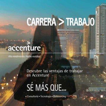 Descubre las ventajas de trabajar en Accenture - docencia de la ...