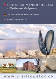 Brochure / Broschüre (PDF-format / 945 kb) - Limfjordens Vandrerhjem