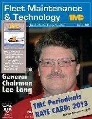 Rate Card for TMC's Fleet Maintenance & Technology Magazine
