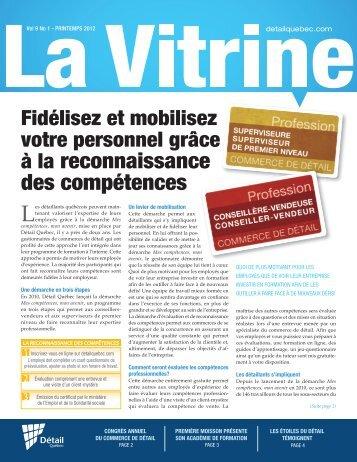 La Vitrine vol. 9, no 1 - Détail Québec