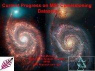 Current Progress on M51 Comissioning Datasets
