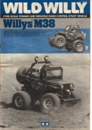 Tamiya Wild Willy Manual - CompetitionX.com
