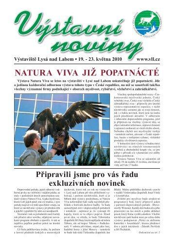 natura viva již popatnácté - Výstaviště Lysá nad Labem