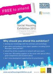 Monday 17 September 2012 - Social Housing Exhibition