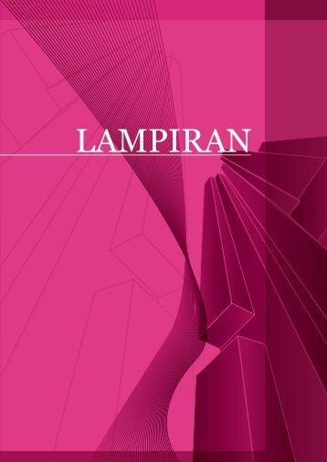LAMPIRAN - Kementerian Pengajian Tinggi