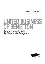 UNITED BUSINESS OF BENETTON - Stampa alternativa