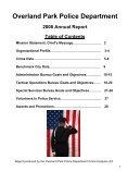 OP Police Department Annual Report - City of Overland Park - Page 2