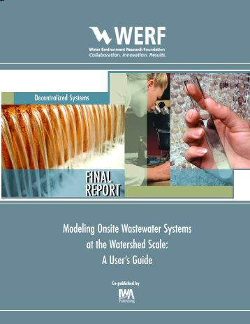Modeling Onsite Wastewater Systems at the Watershed Scale: A ...