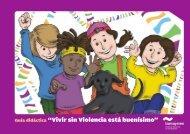 """Guía didáctica """"Vivir sin Violencia está buenísimo"""""""