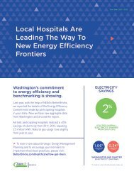 Energy Efficiency Final Report for WSSHE Chapter Hospitals