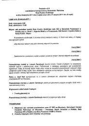 Protokół nr 8/11 z posiedzenia Komisji Ochrony Środowiska i ...