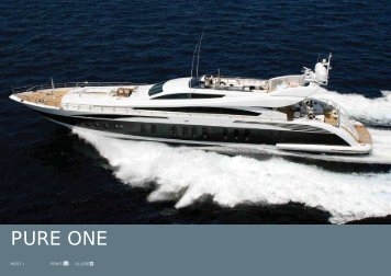 M/Y Pure One - Paradise Yacht Charters