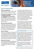 Nutrition and Macular - Macular Degeneration Foundation - Page 3