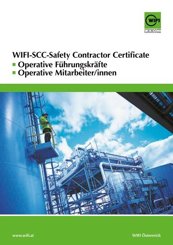 Wifi-scc-safety contractor certificate Operative F