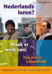 Nederlands leren? - Gemeente Leeuwarden