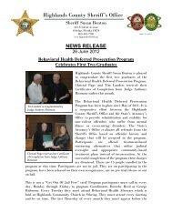 06-26-2012 Behavioral Health Program Graduates - Highlands ...