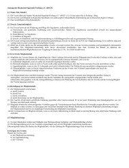 Die Satzung des HSCF als PDF-Dokument (Stand Juni 2013)