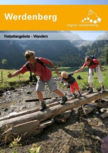 Freizeitangebot Wandern Werdenberg