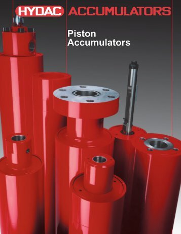 Piston Accumulators - Airline Hydraulics