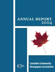 2004 in review - Newspapers Canada