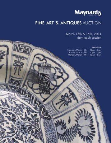 FINE ART & ANTIQUES AUCTION